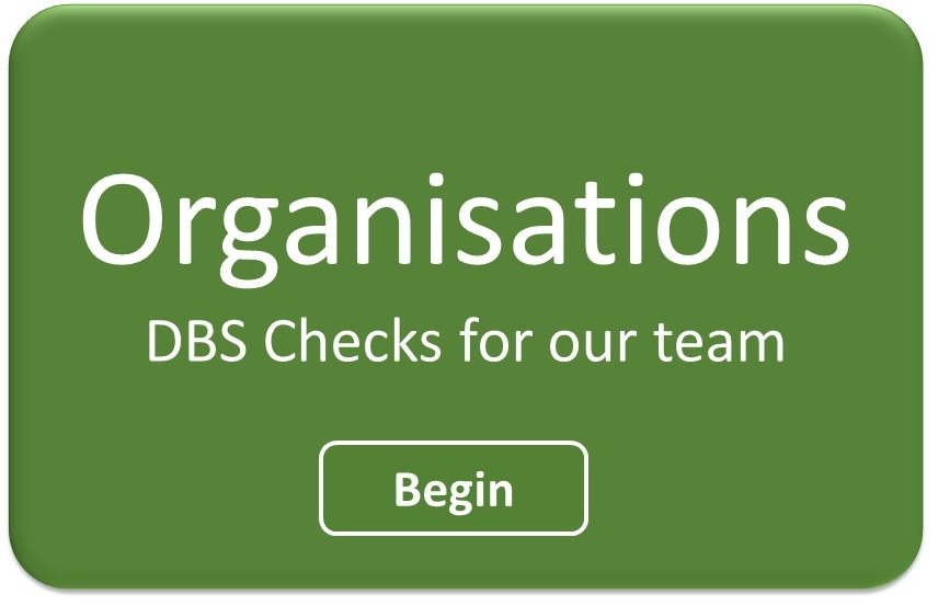 DBS for Organisations