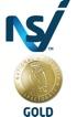 NSI Gold certificate logo